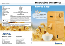 hawos Easy Instruções de serviço