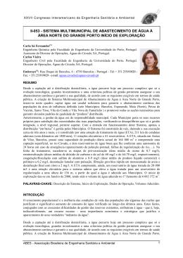 II-053 - SISTEMA MULTIMUNICIPAL DE