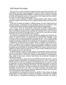 SOS Grande Porto Alegre VIA_RS 10.04.1998