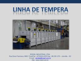 ROSSIL INDUSTRIAL LTDA. Rua Dona Francisca, 9663 Fone/Fax