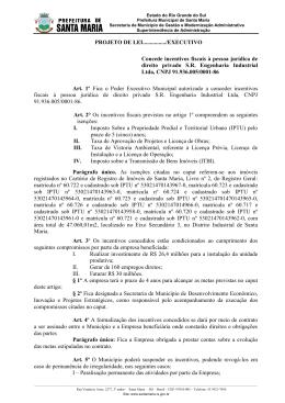8123 - Câmara Municipal de Vereadores de Santa Maria