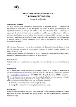 TURISMO PONTE DE LIMA - Município de Ponte de Lima