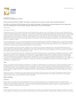 2/11/2008 13:25:13 Prefeituras decididas no tribunal Paulo