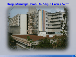 Hospital Municipal Alípio Correa Netto