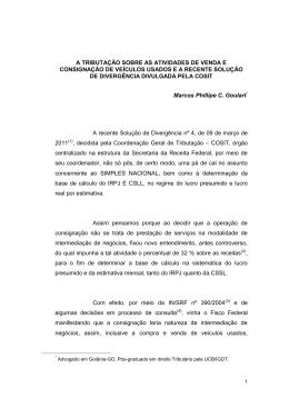 04/05/2011 - IDTL - Instituto de Direito Tributário de Londrina
