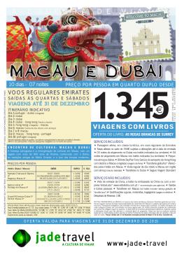 Macau e Dubai