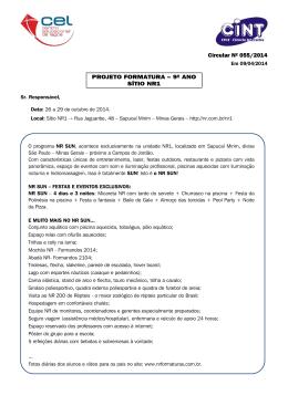 (C_055 - Projeto Formatura 9º Ano