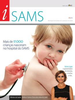 Mais de 17.OOO crianças nasceram no hospital do SAMS