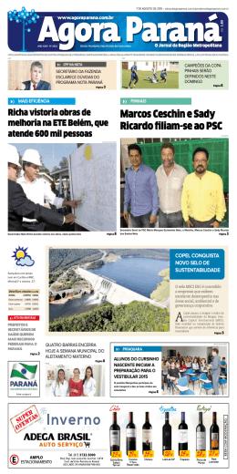 Edição - 2932 - Agora Paraná Online