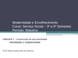 Aula Velhice Estigmatizada - Alunos/as de Serviço Social