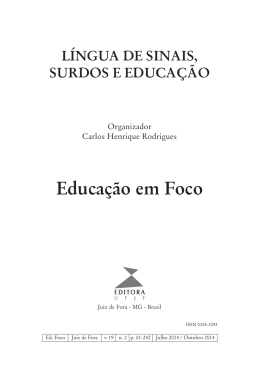 Revista - Universidade Federal de Juiz de Fora