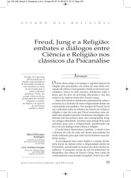 Freud, Jung e a Religião - Revistas Científico