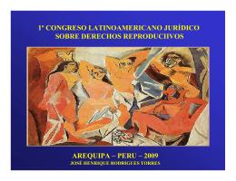 1º congreso latinoamericano jurídico sobre derechos reproduciivos
