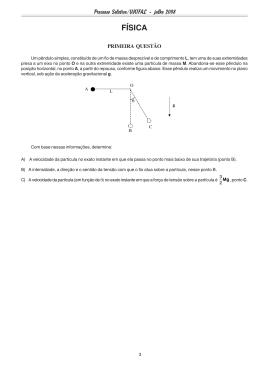 Física (Discursiva) - Unifal-MG