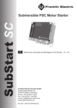 Submersible PSC Motor Starter