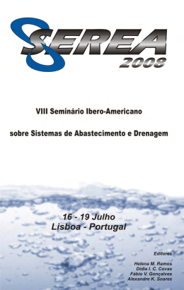 VIII SEREA - LENHS UFPB - Universidade Federal da Paraíba
