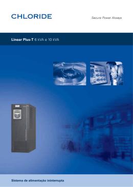 Linear Plus-T 6 kVA e 10 kVA