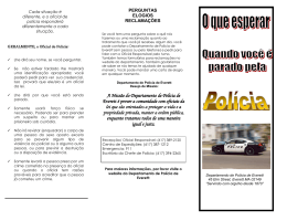 Police Stop Guide Portuguese
