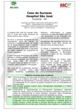 Caso de Sucesso Hospital São José