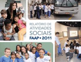 Relatório de Atividades Sociais 2011