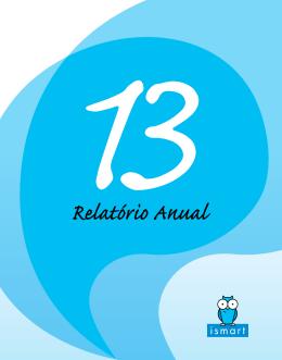 Relatório Anual 2013 do Ismart