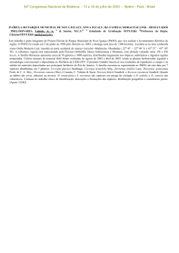 Resumos - Sociedade Botânica do Brasil