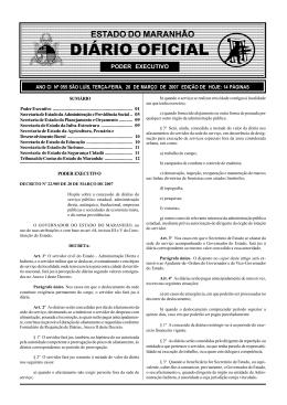 Decreto 22.985 – Diárias de servidores