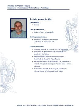 Hospital da Ordem Terceira Dr. João Manuel Jordão