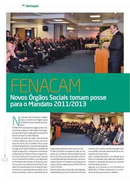 Novos Órgãos Sociais tomam posse para o Mandato