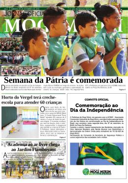 jornal oficial.indd - Prefeitura Municipal de Mogi Mirim
