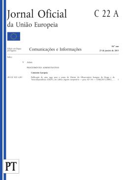 Jornal Oficial da União Europeia