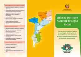 VISÃO DO INSTITUTO NACIONAL DE ACÇÃO SOCIAL