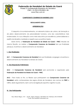Federação de Handebol do Estado do Ceará