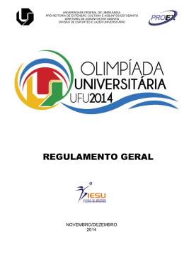 Regulamento_Olimpiada_2014 - Divisão de Esportes e Lazer