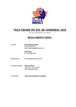 Baixe aqui - Liga Sertaneja | Taça Cidade do Sol