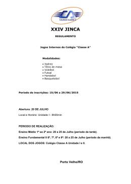 XXIV JINCA