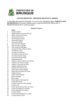 Clique para ver o arquivo - Prefeitura Municipal de Brusque