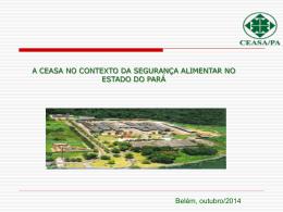 O QUE É UMA CEASA? - Ministério Público do Estado do Pará