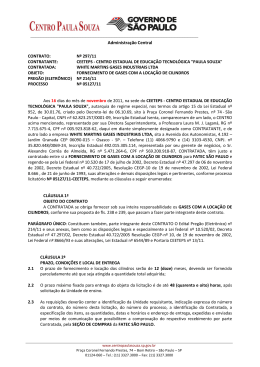 297/11 –FORNECIMENTO DE GASES COM
