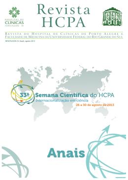 Revista HCPA - Portal Hospital de Clínicas de Porto Alegre