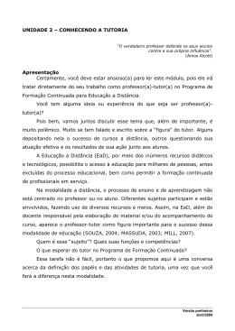 Módulo 03 - Tutoria