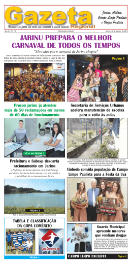 Edição 158 - gazetaregionaljarinu.com.br
