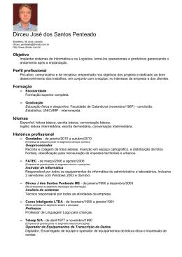 (CV Site Dirceu José dos Santos Penteado)