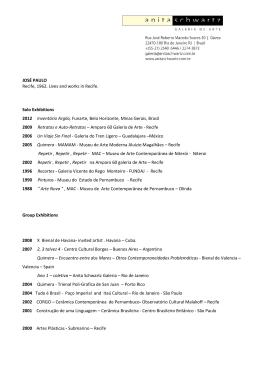 Curriculum José Paulo (PDF - 436 Kb)