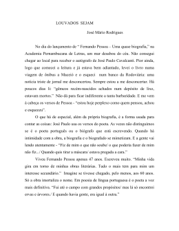 Louvado Seja - Academia Pernambucana de Letras