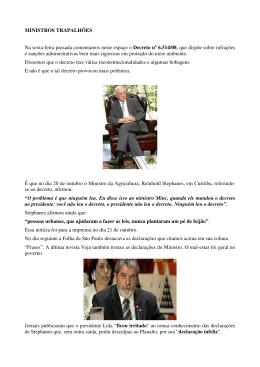 Ministros Trapalhões - José Henrique de Freitas