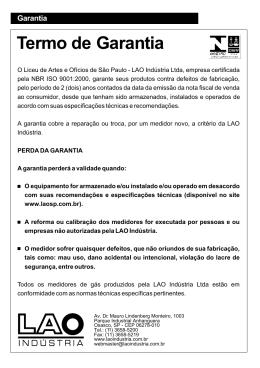 manual leitura_gas