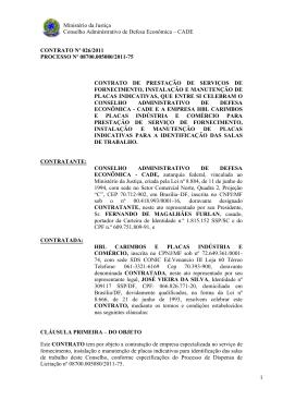 Contrato n° 026/2011