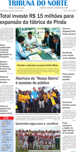 8221 - Jornal Tribuna do Norte
