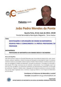 João Pedro Mendes da Ponte